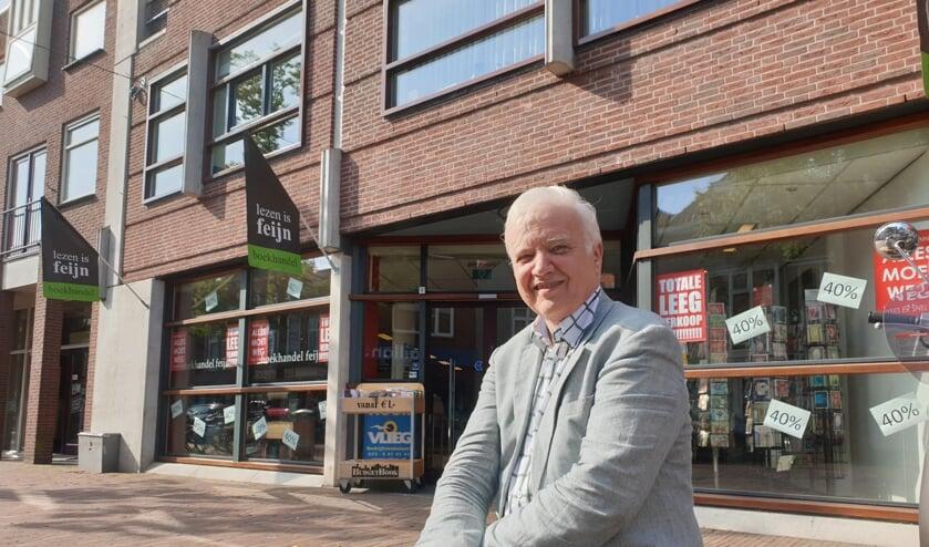 Michael van Buizen, eigenaar van boekhandel Feyn.