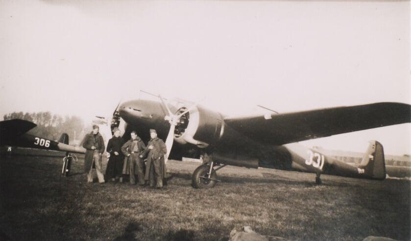 De Fokker G-1 in 1940.