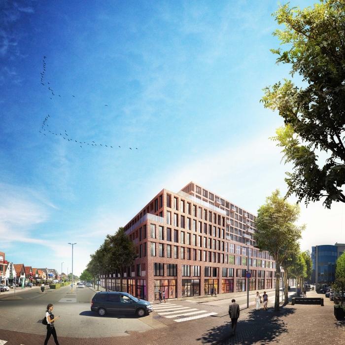 Impressie van de nieuwbouw Kraaijvanger Architects © rodi