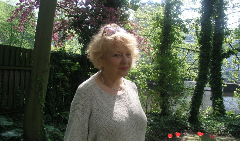 Schrijfster Marjan Berk.