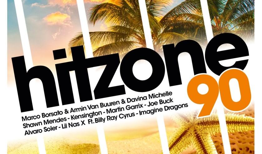 Liefst 24 recente tophits op 538 Hitzone 90.