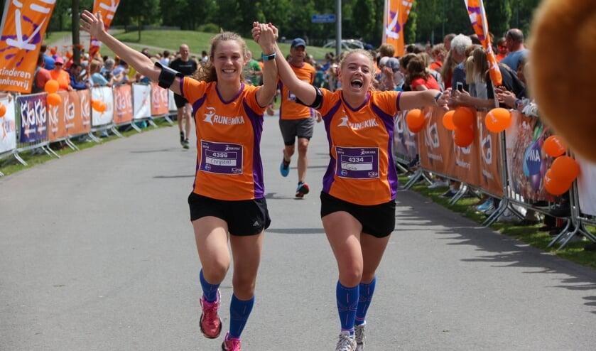 Allereerste Run for Kika in Alkmaar.