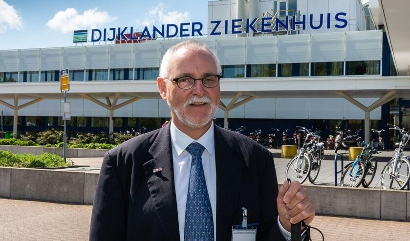 Wim Hoogterp is niet bang om in een gat te vallen.