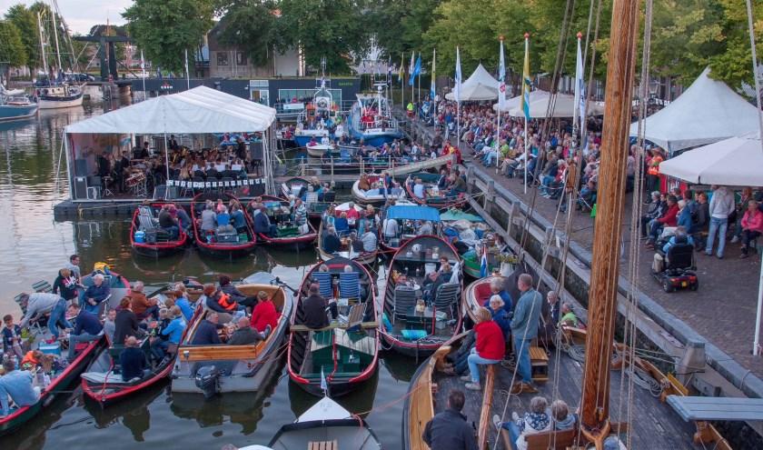 Zaterdag 10 augustus staat het Oosterhavenconcert op het programma.