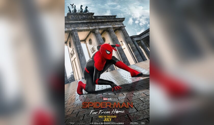 Filmposter van 'Spider-Man: Far From Home'.