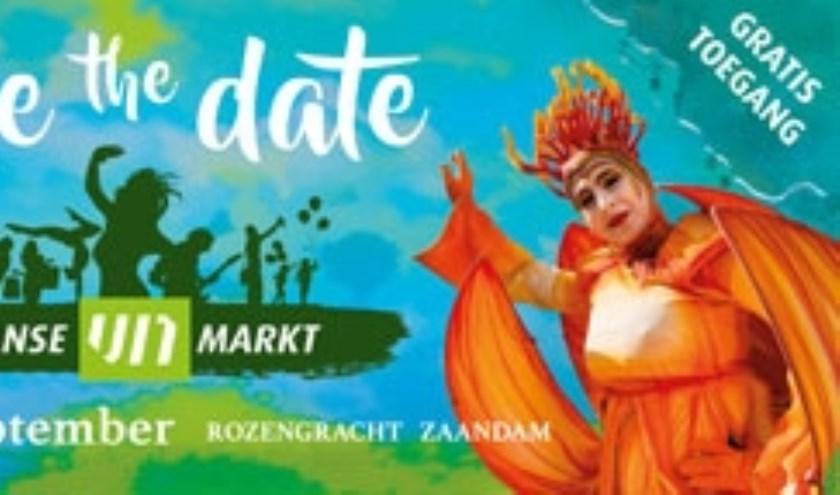 De Zaanse UITmarkt bestaat dit jaar uit drie elementen.