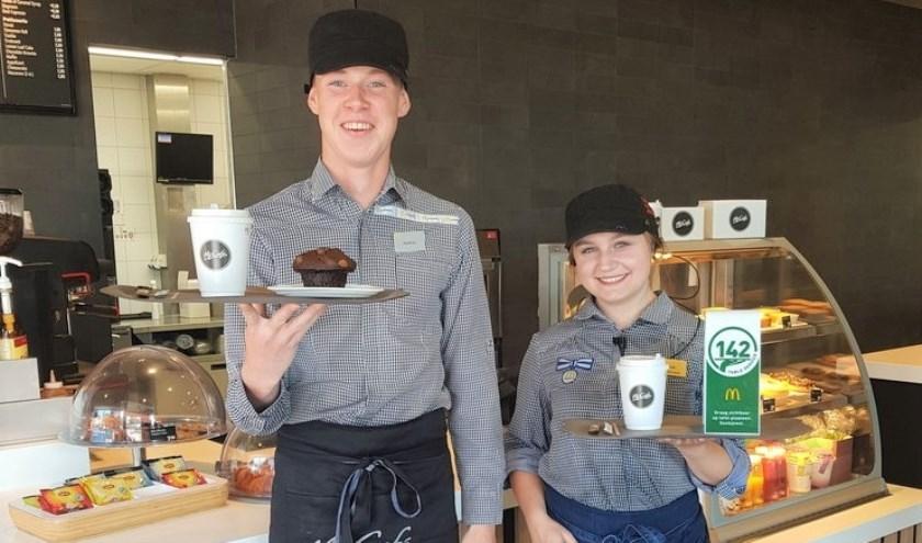 McDonald's Alkmaar West start met persoonlijke bediening aan tafel.