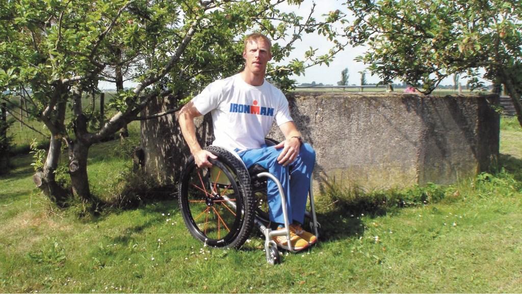 Paratriatleet Geert Schipper uit Spanbroek doet 7 juli mee met IRONMAN in Hoorn.  (Foto: archief Rodi Media) © rodi