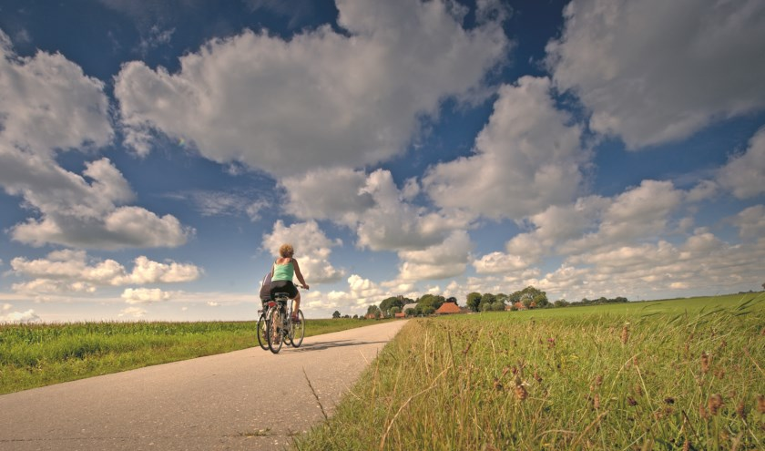 Fietsen in West-Friesland.