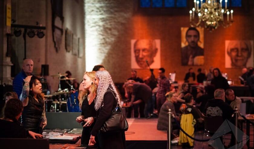 Grote Kerk weer decor voor Tattoo Conventie.