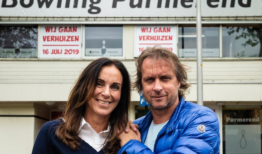 Mario Schep en zijn partner Debbie.