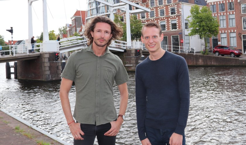 Iede Hoorn (links) en Jasper Martens.