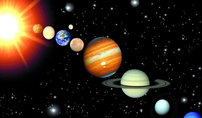 Fascinerend: het zonnestelsel.