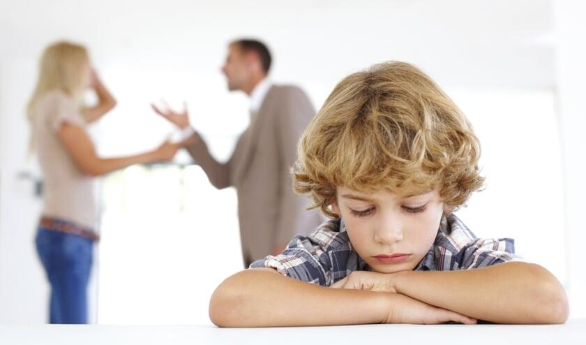 Kinderen zijn vaak de dupe van de ruzies tussen hun ouders.