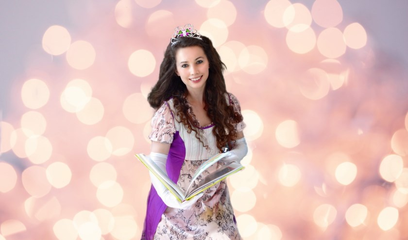 Je kunt je laten voorlezen door een heuse prinses.