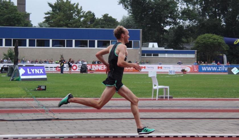 DEM-atleet Stan Niesten.