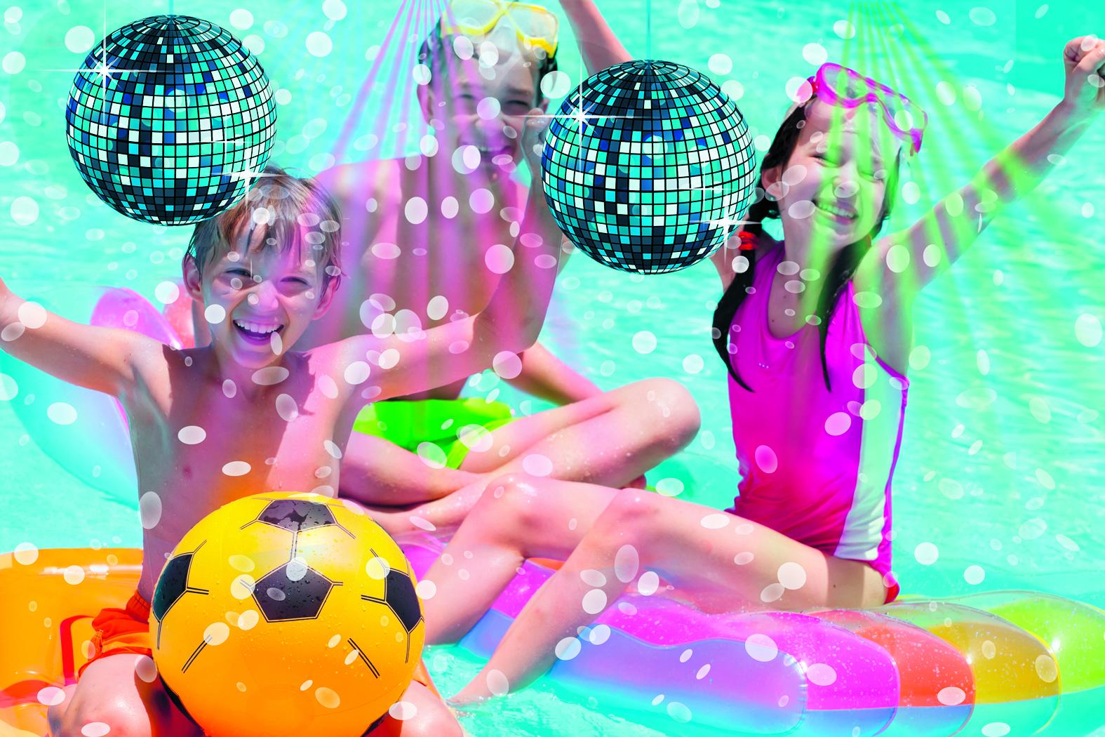 Kom aanstaande vrijdag disco-zwemmen in Het Zwembad. Dat wordt één groot feest! (Foto: archief Rodi Media)