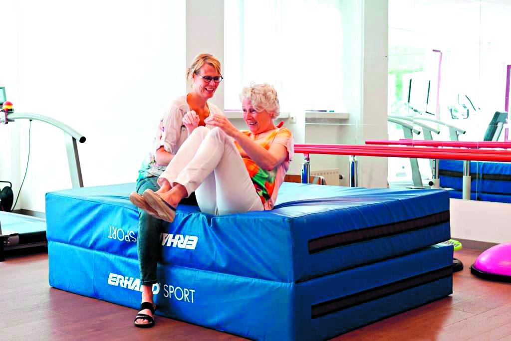 Valpreventie kan ernstig letsel voorkomen bij ouderen. (Foto: archief Rodi Media)