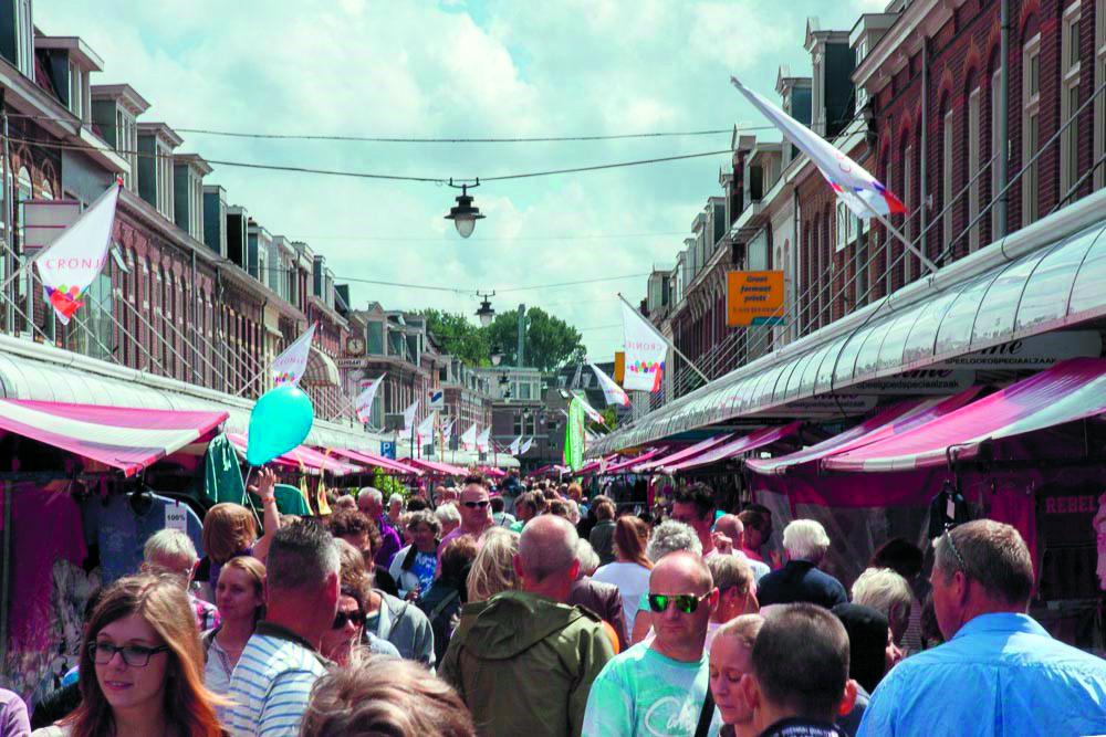 De braderie in de Cronjé is een van de gezelligste markten uit de regio. (Foto: aangeleverd)