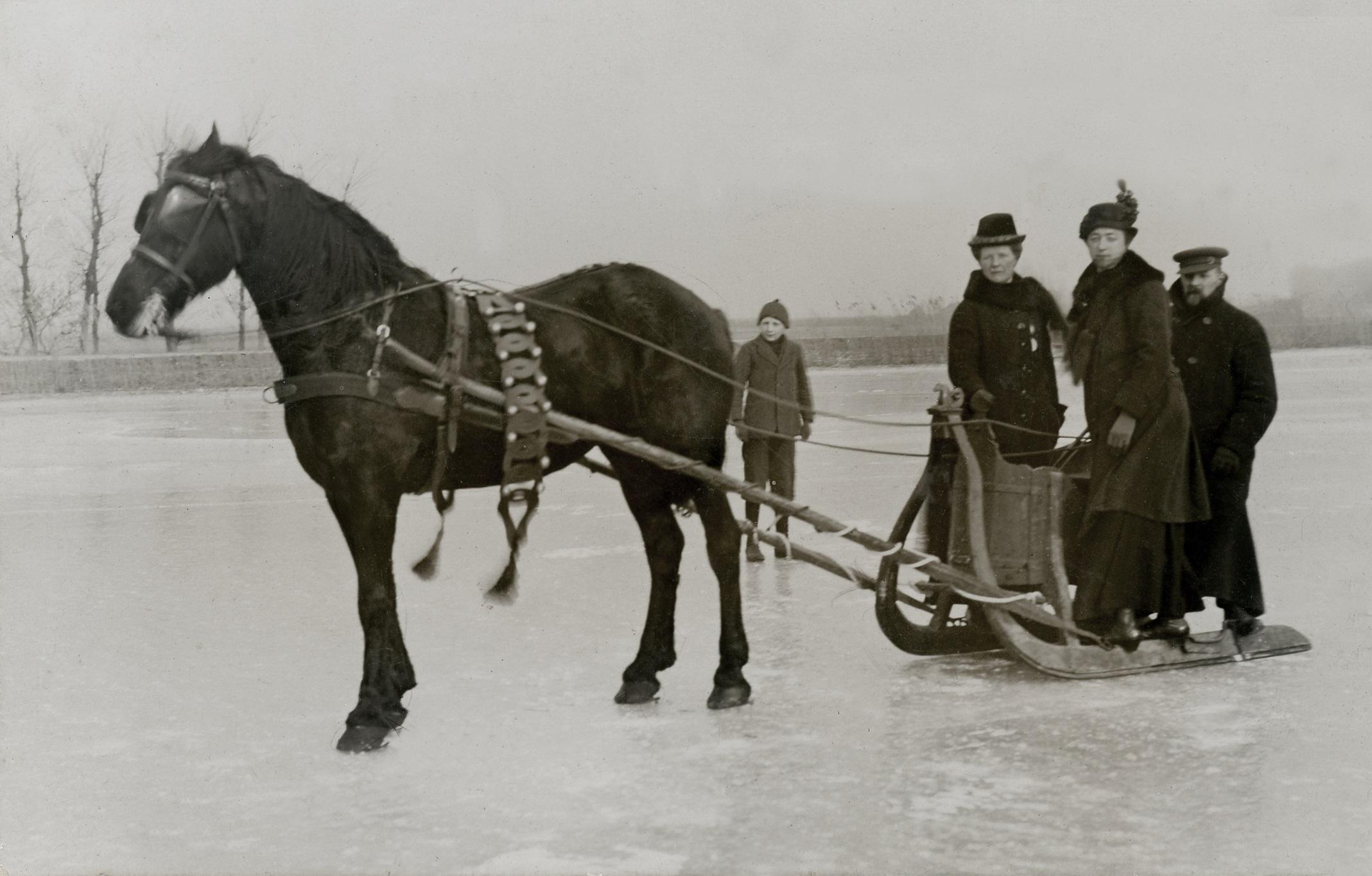Voor de pauze kan het publiek genieten van 'Beemster in de winter'. (Foto: aangeleverd)