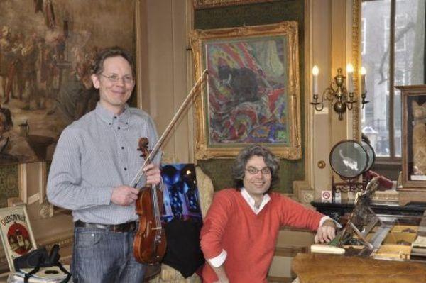 Mark Zandstra en Haik Seth Paul. (Foto: aangeleverd)