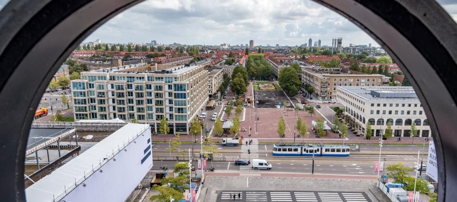 Stadionplein. (Foto: gemeente Amsterdam)