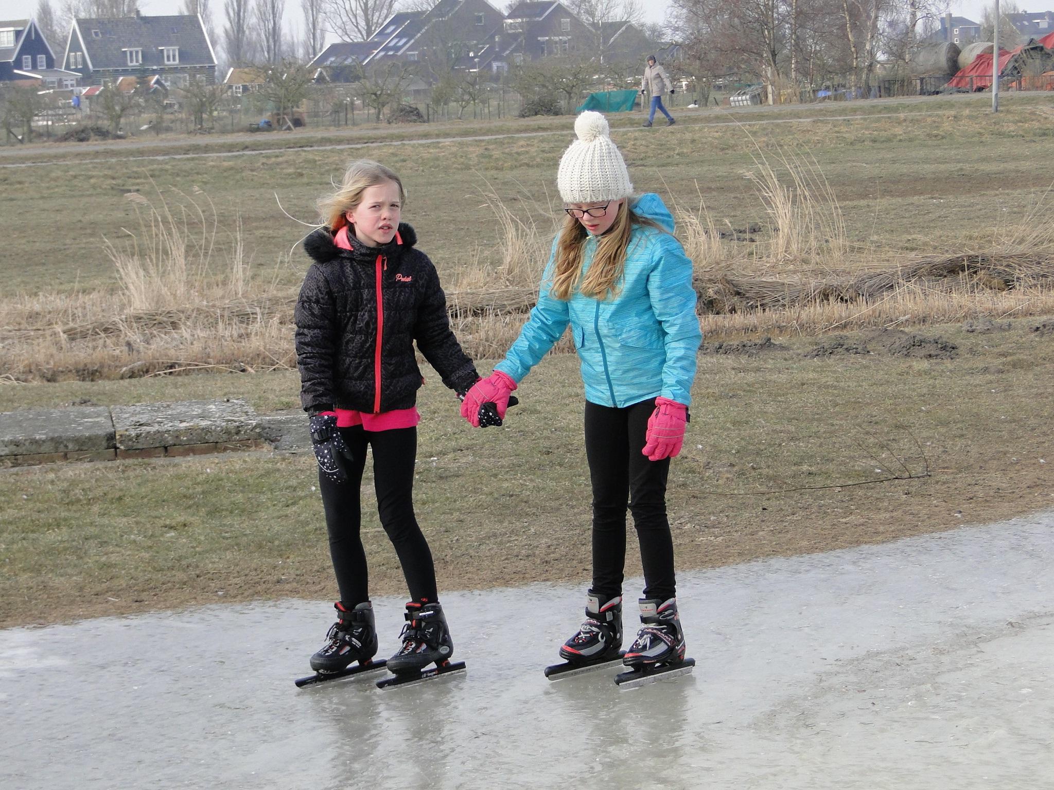 Kortstondig schaatsplezier bij IJsclub Marken