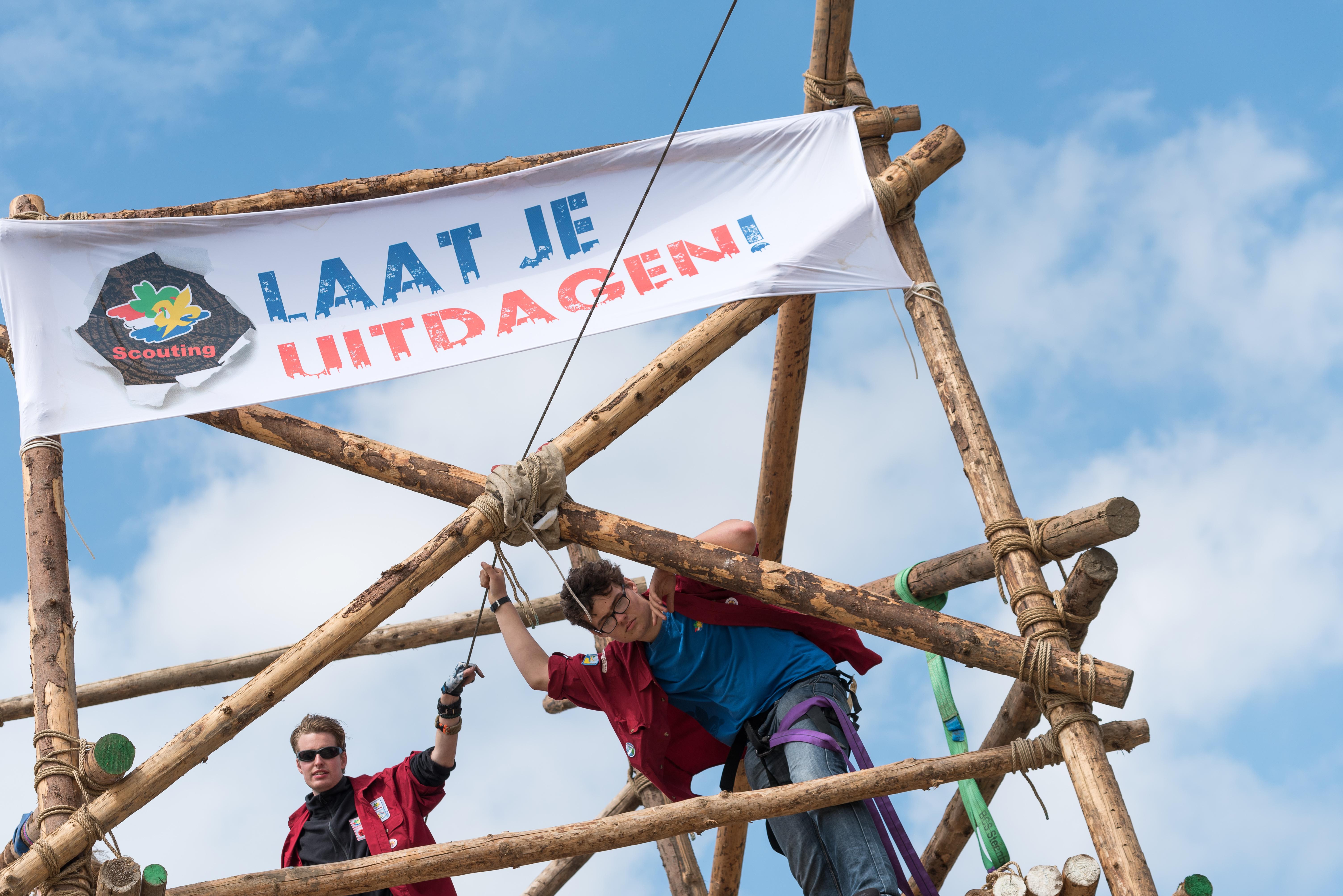 Scouting Corvus Crone houdt zaterdag 17 maart een open dag. (Foto: Schouting Nederland)