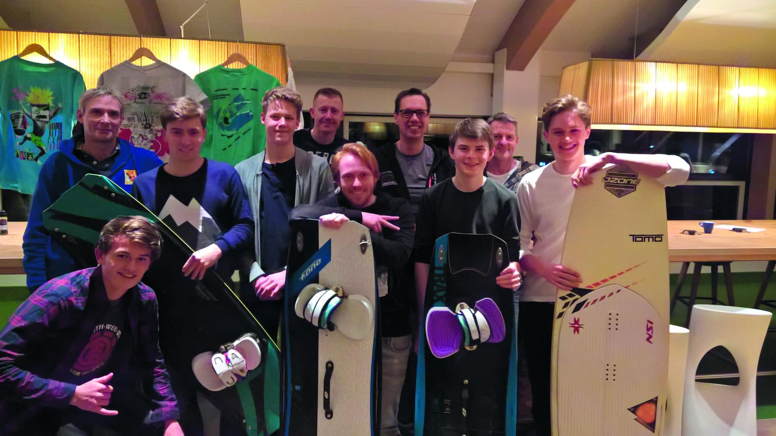 Evenementen Commissie en Bestuur van Surfvereniging FreakWave.