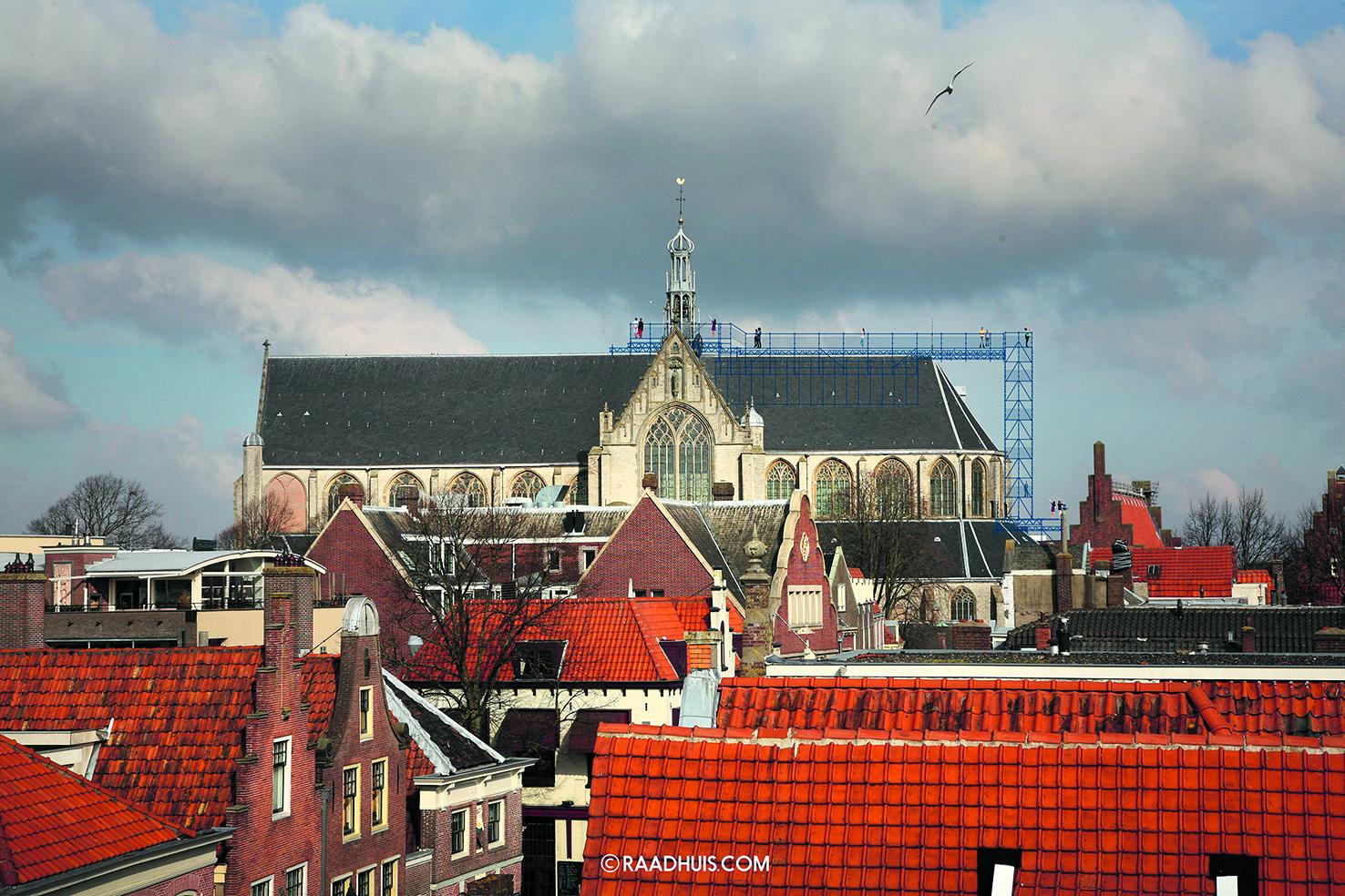De Grote Kerk maakt zich op voor 'Klim naar de hemel' (Impressie: aangeleverd)
