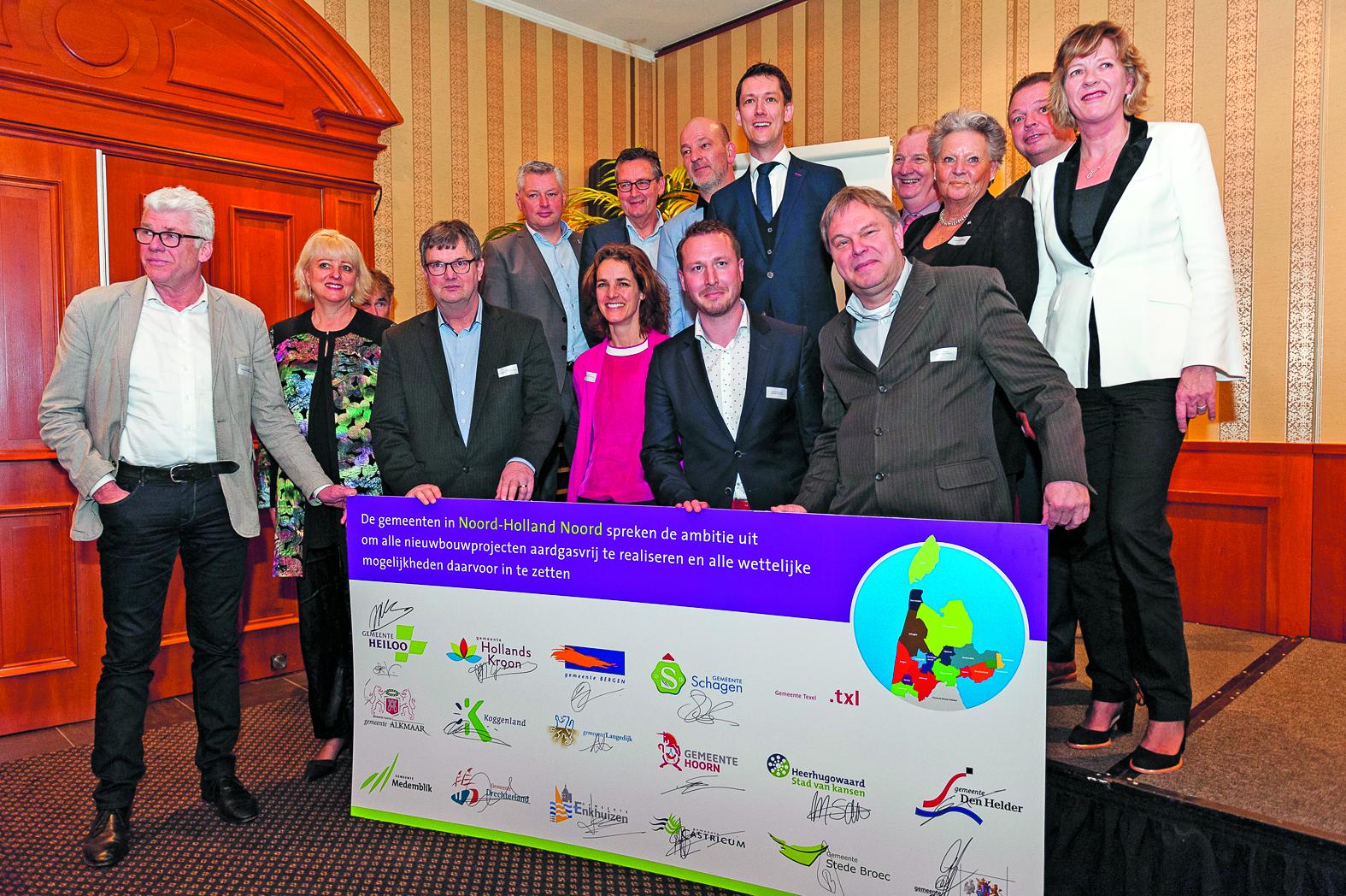 De gemeenten in Noord-Holland Noord hebben met elkaar afgesproken dat ze zoveel mogelijk nieuwbouwprojecten al aardgasvrij willen realiseren. (Foto: Paul Apeldoorn Fotografie)
