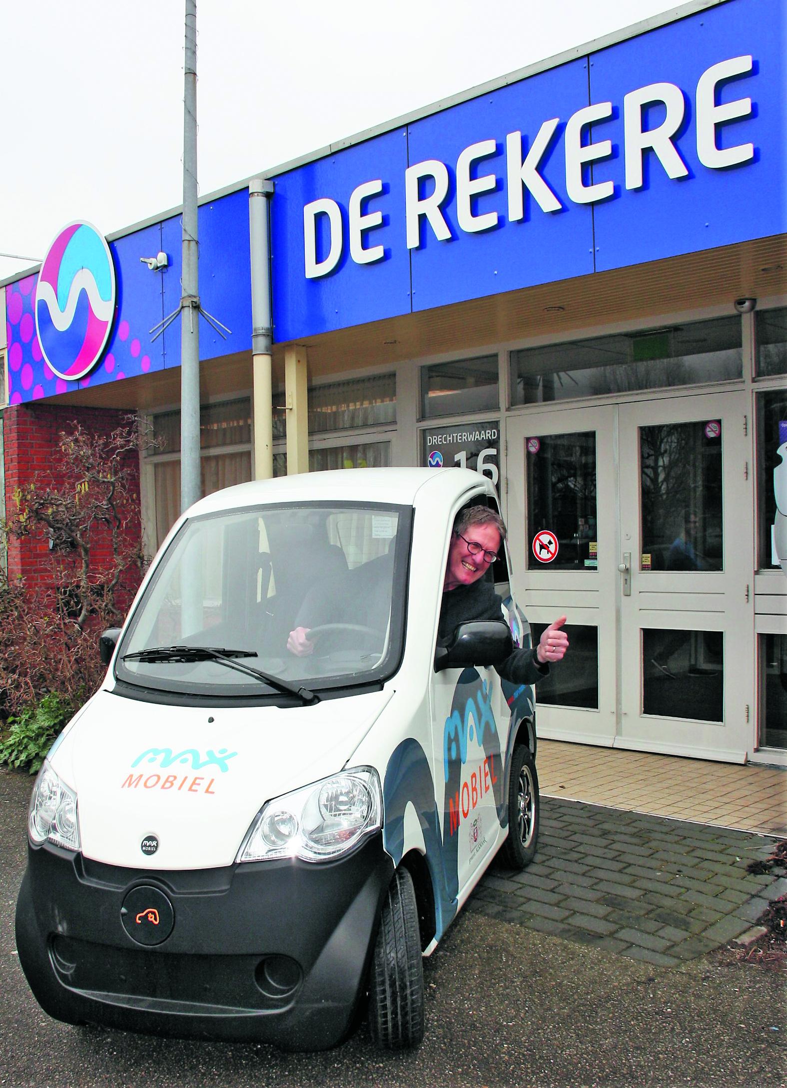 Wijkcentrum De Rekere beschikt sinds kort over een Max Mobiel. (Foto: aangeleverd)