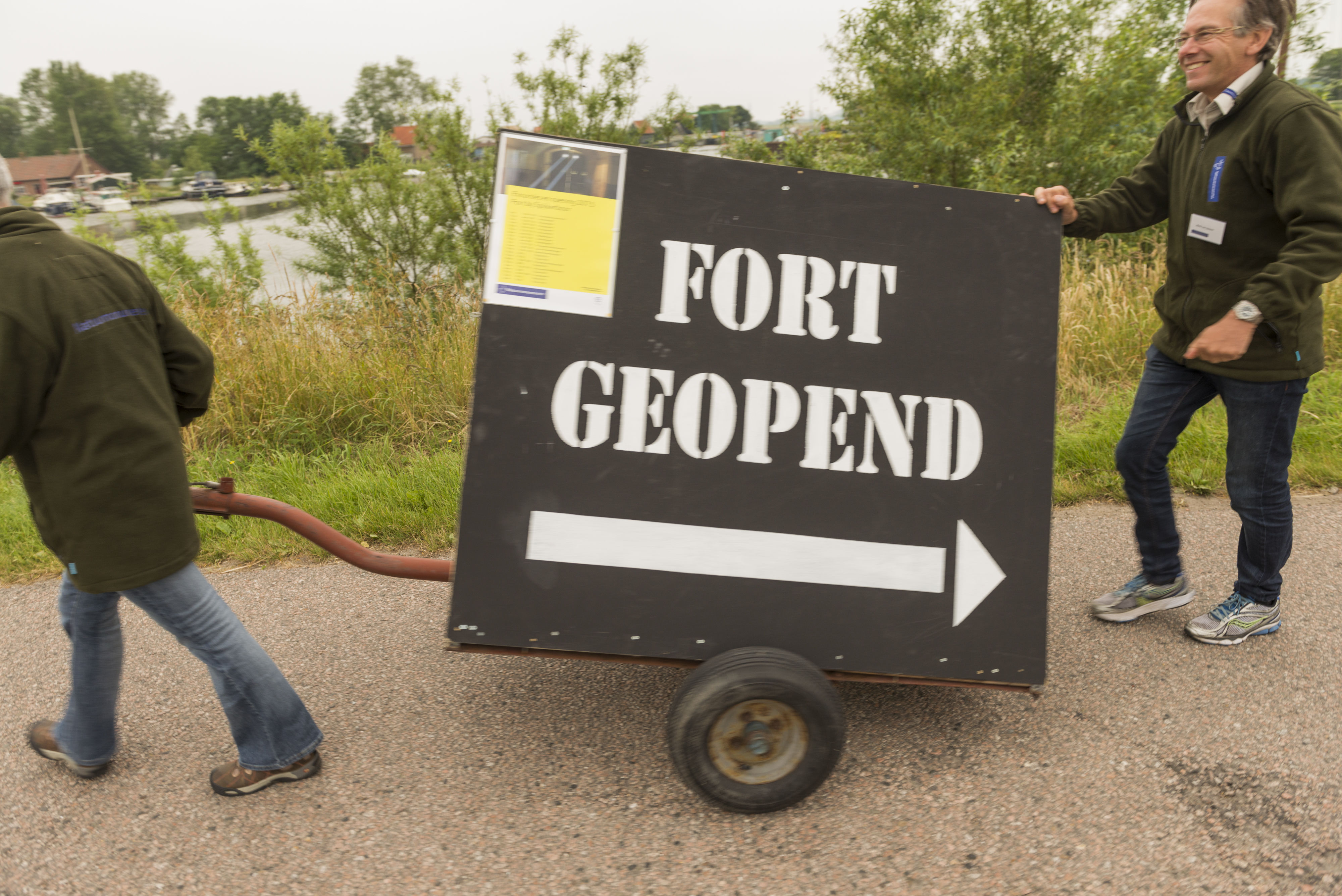 Fort Spijkerboor gaat open. (Foto: Fort Spijkerboor)