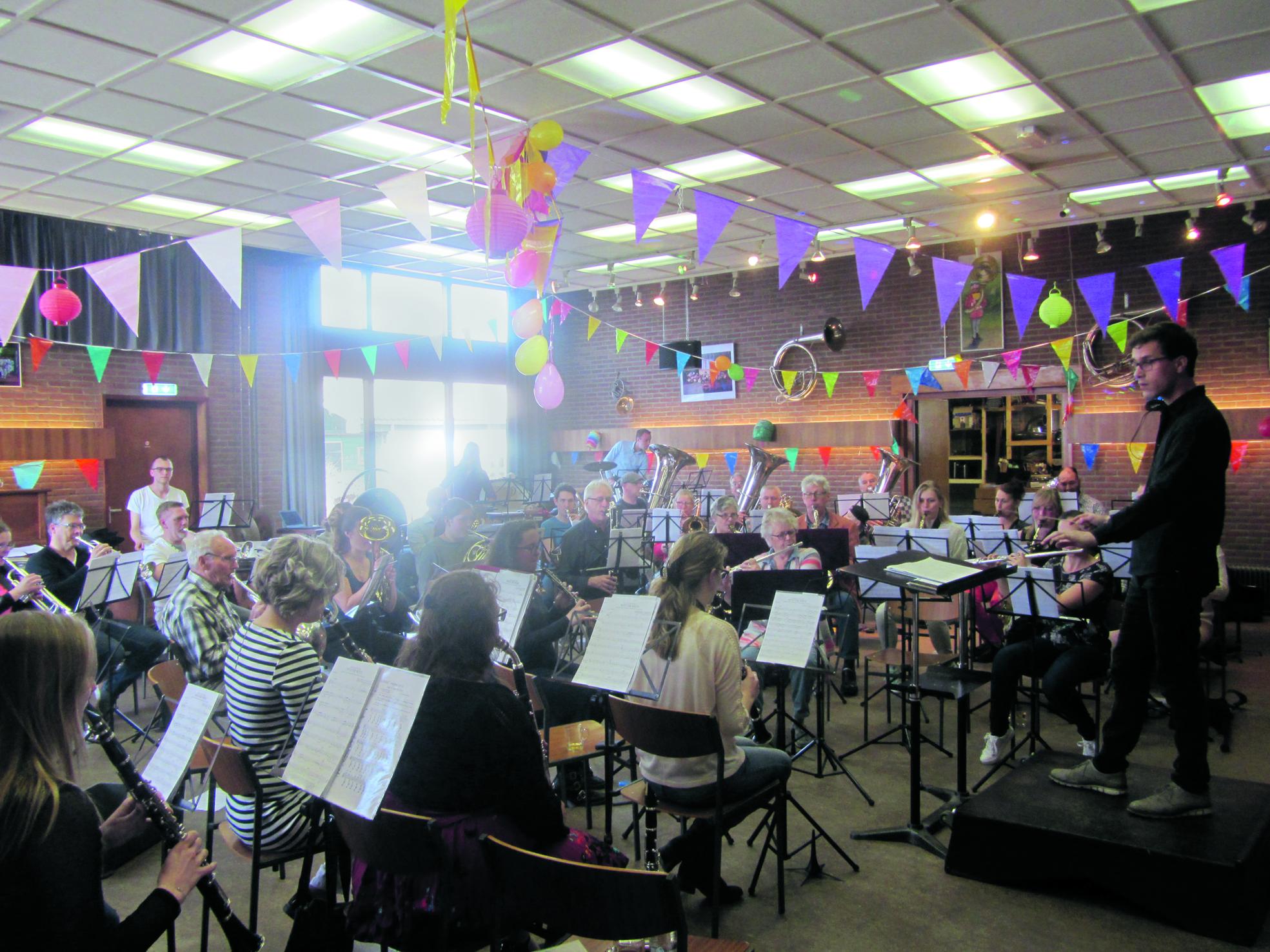 Concordia viert feest. (Foto: JWvD)