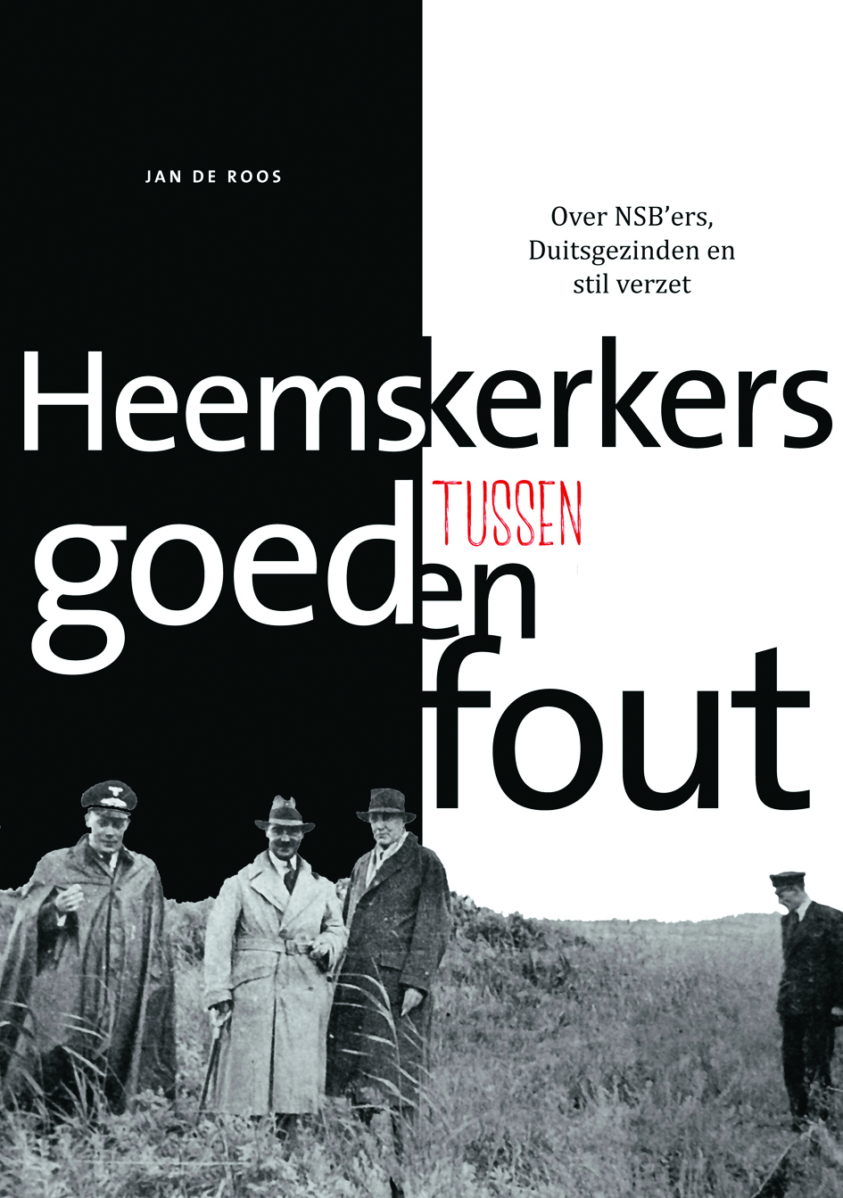 De cover van het boek 'Heemskerkers tussen goed en fout'. (foto aangeleverd)