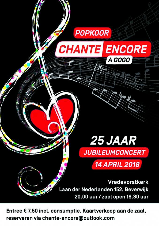 Chante Encore. (foto aangeleverd)