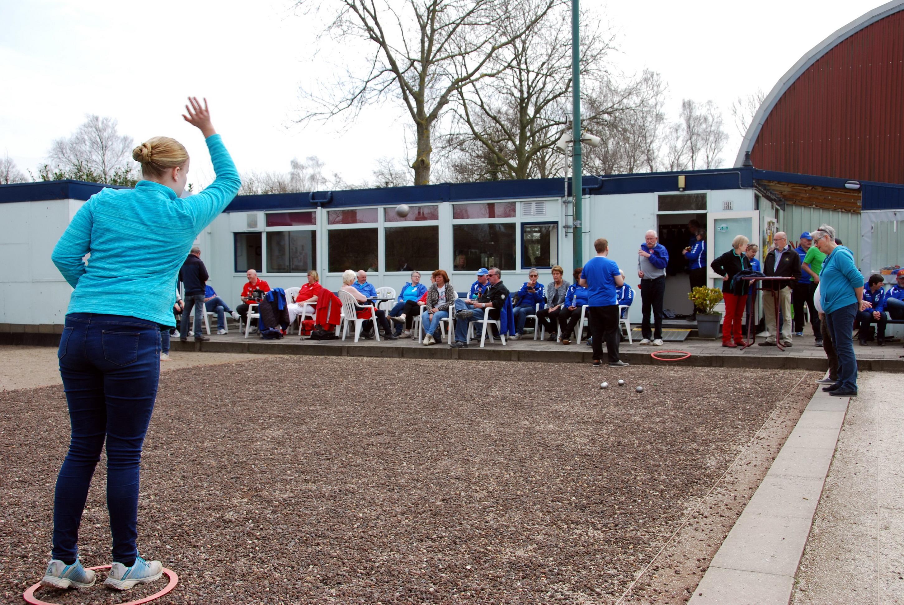 Een spelmoment tijdens het Lentetoernooi van PON. (Foto: Kees Takken)