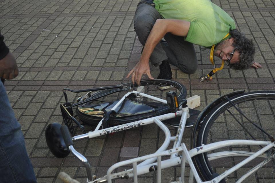 Deze fiets krijgt een tweede kans. (Foto: aangeleverd)
