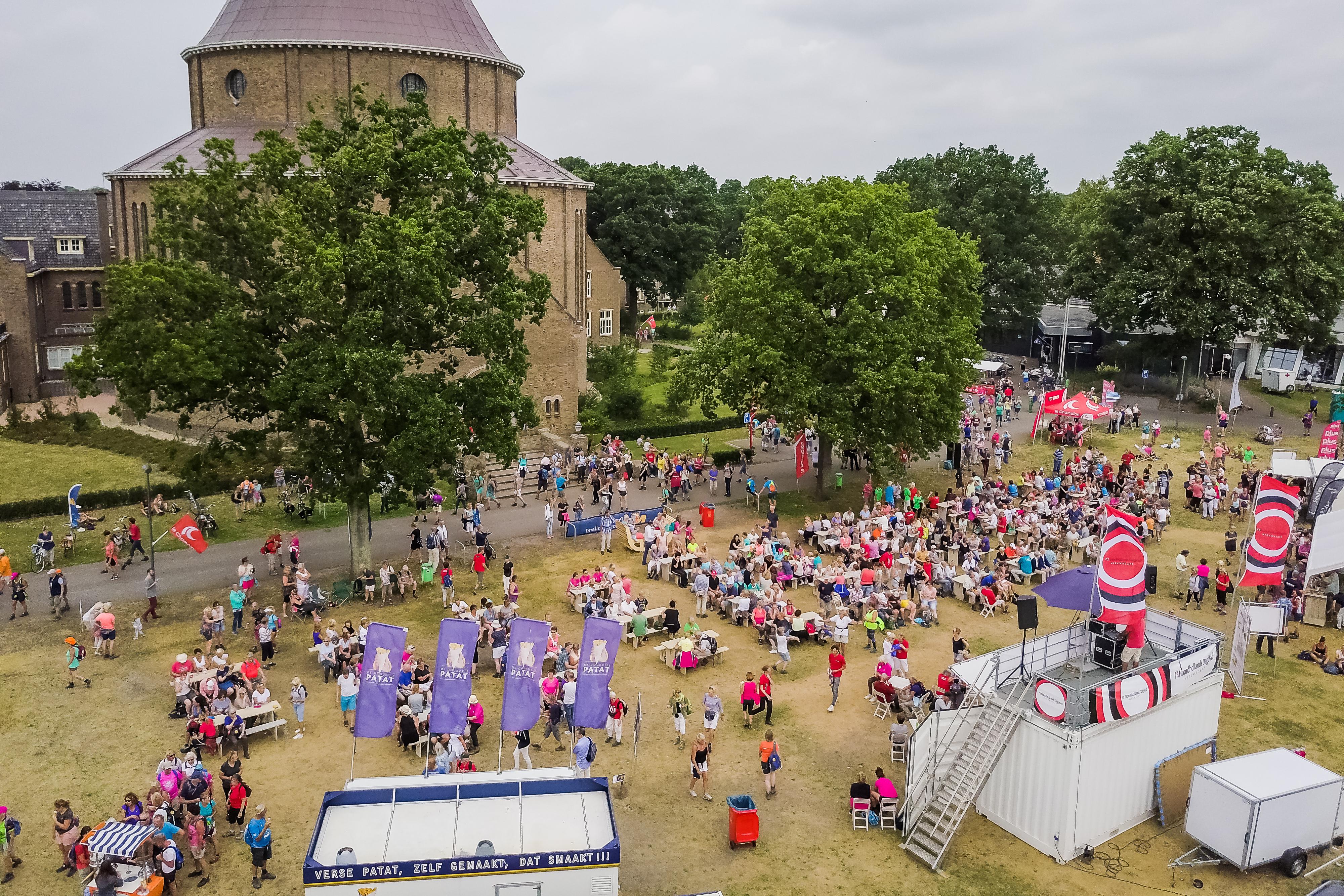Willibrordus weer onderdeel van Wandel4daagse Alkmaar