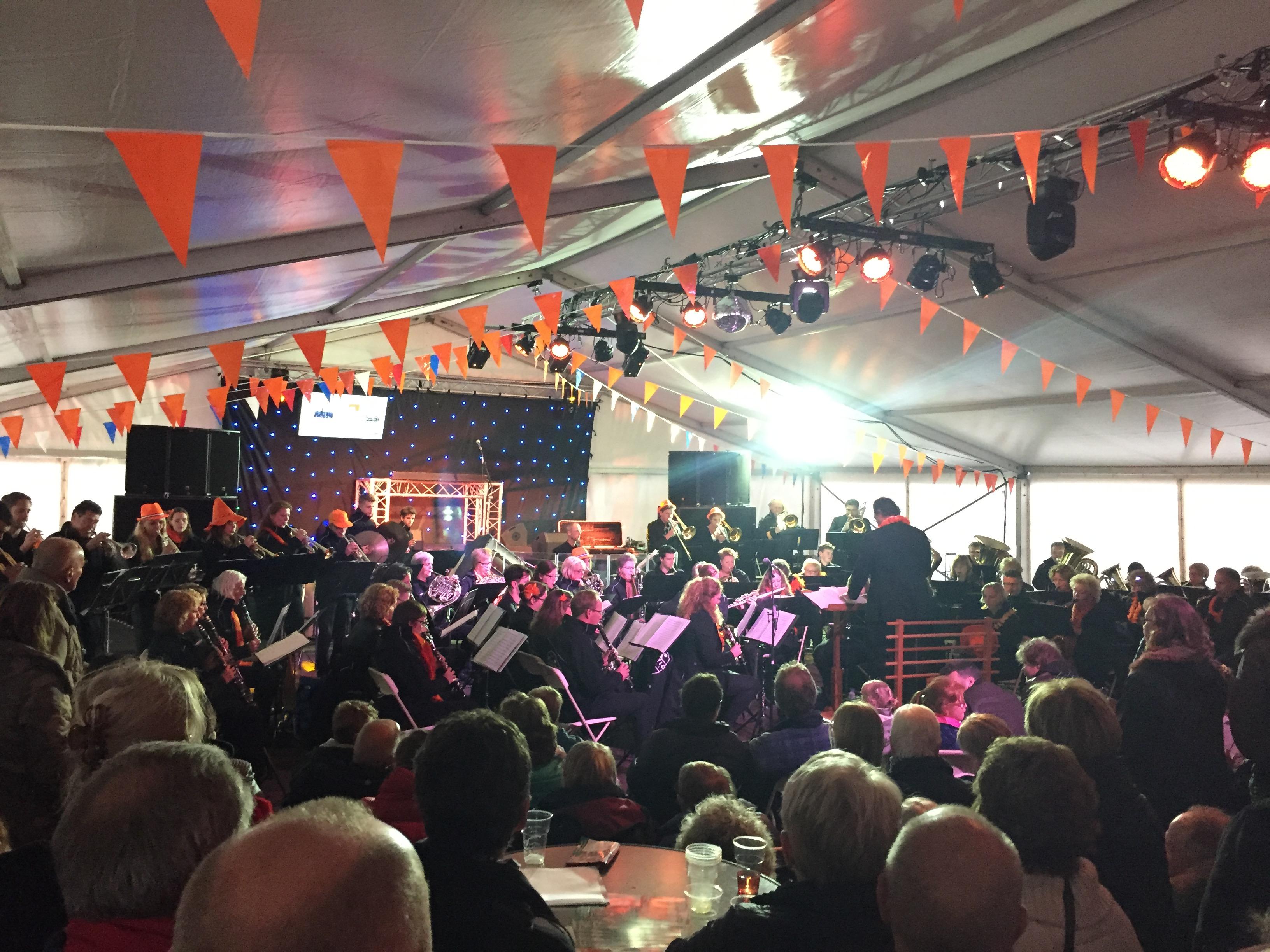 Het Koningsavondconcert van vorig jaar. (Foto: aangeleverd)