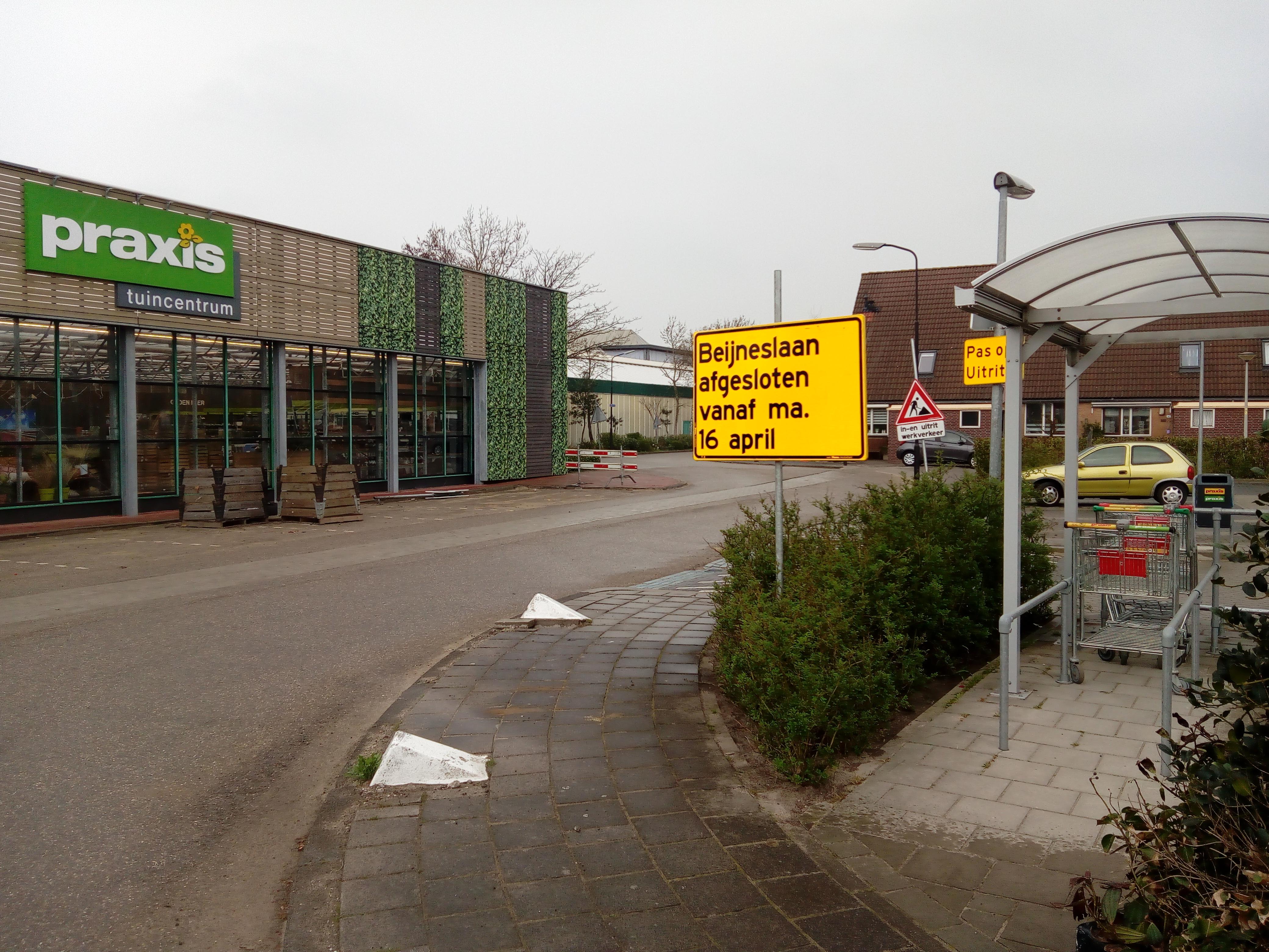 De Beijneslaan in Beverwijk. (Foto: Bos Media Services)