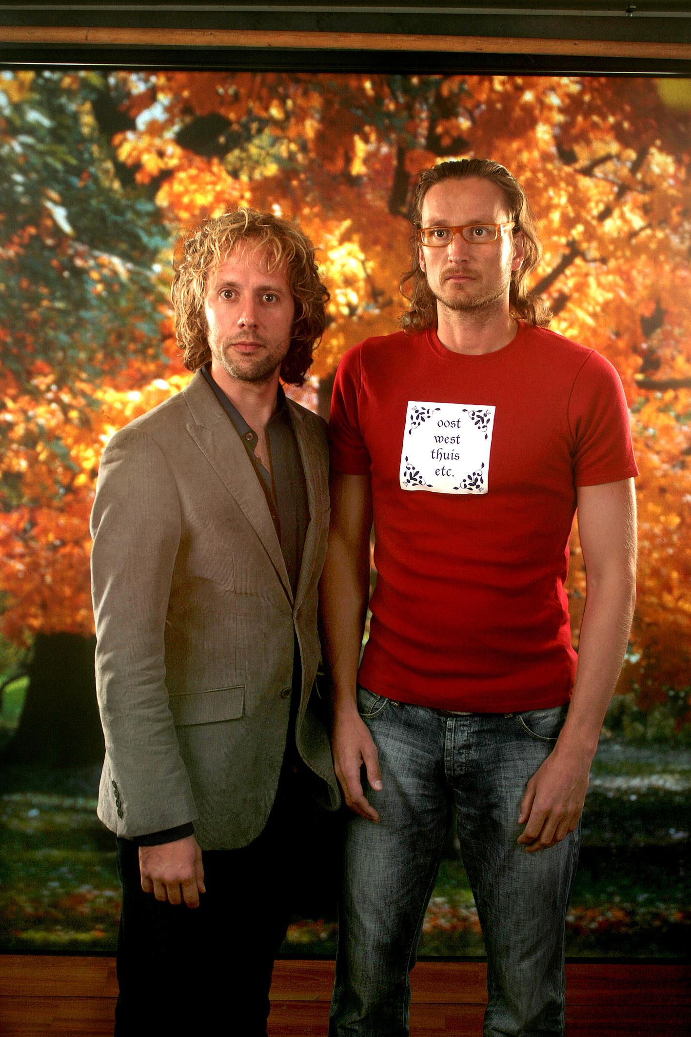 Snijders en Jouke in het BON-theater in Medemblik. Mis deze laatste voorstelling van het seizoen niet. (Foto: aangeleverd)