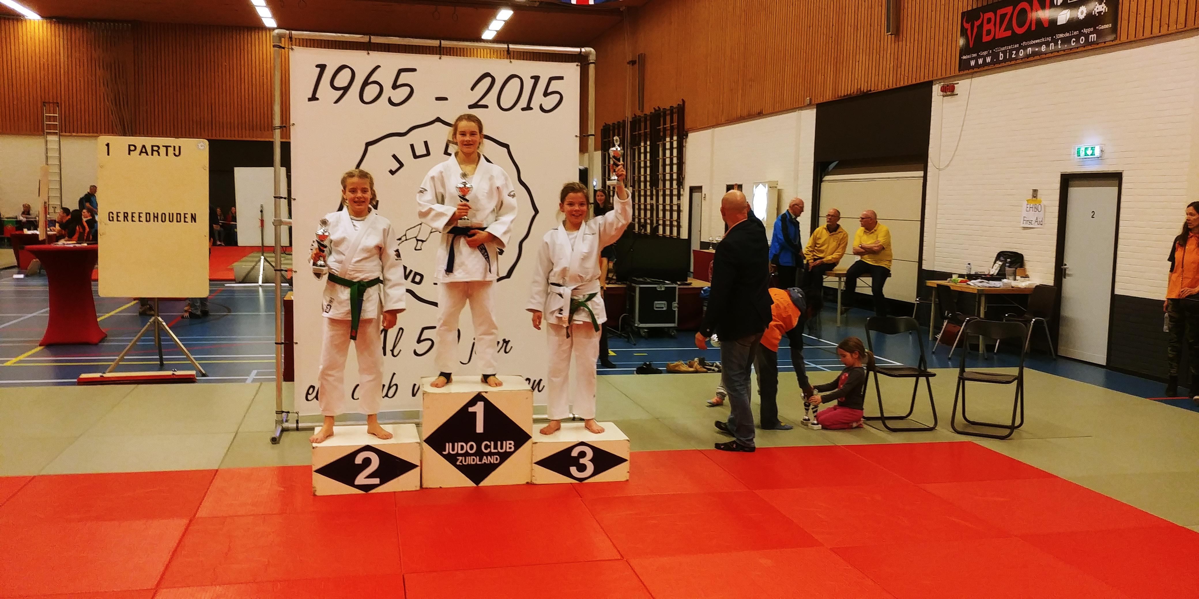 Marissa Meijn (rechts) pakte het brons. (Foto: Hikari)