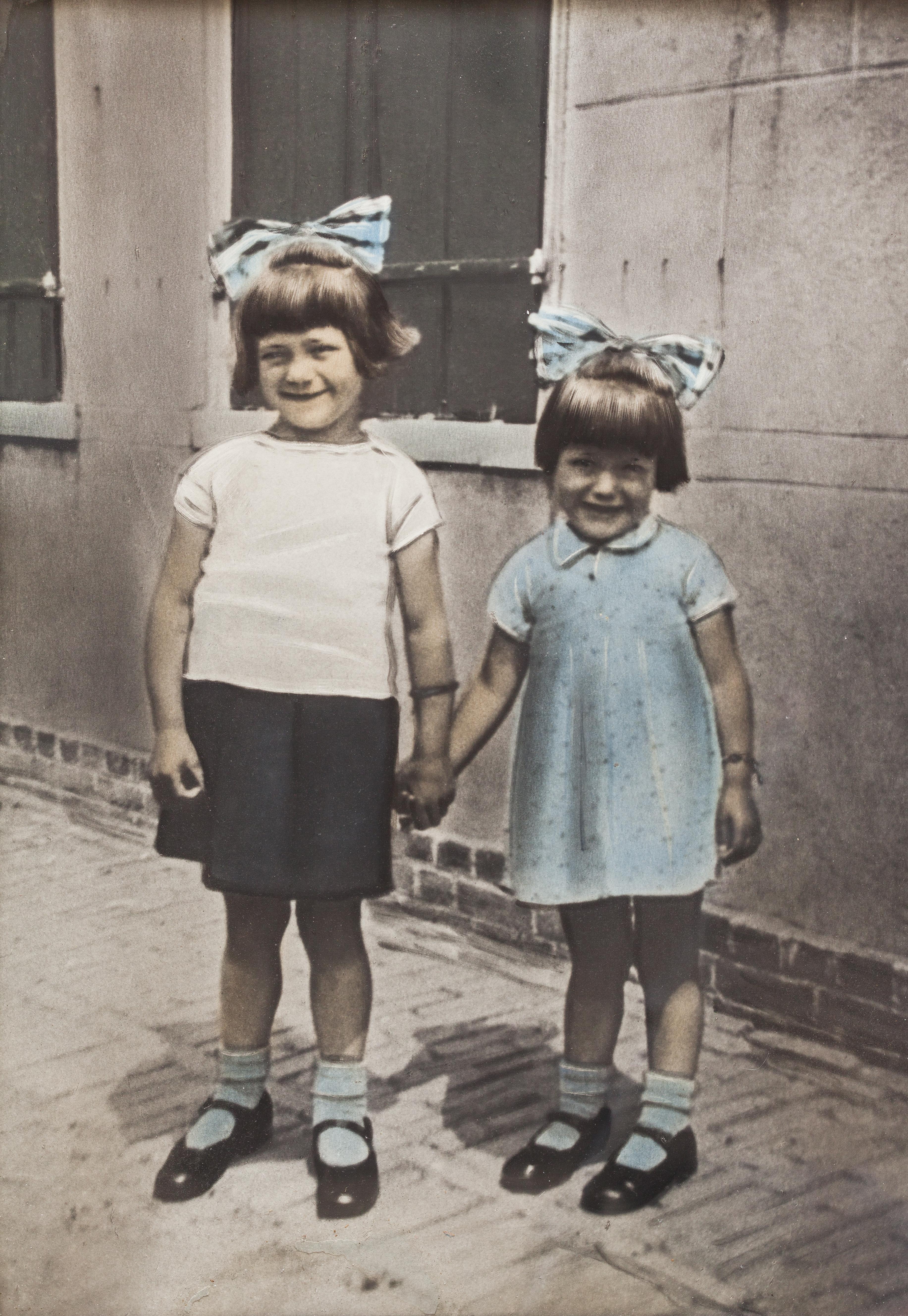 Jannie en Pietje de Jong, bewoners van Westerland in 1940. (Foto: aangeleverd)