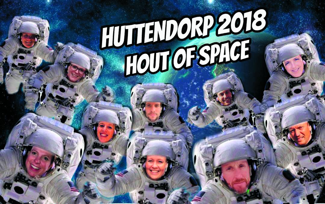 Het bestuur van Huttendorp Ursem heeft zin in het evenement. De inschrijving is gestart. (Foto: aangeleverd)