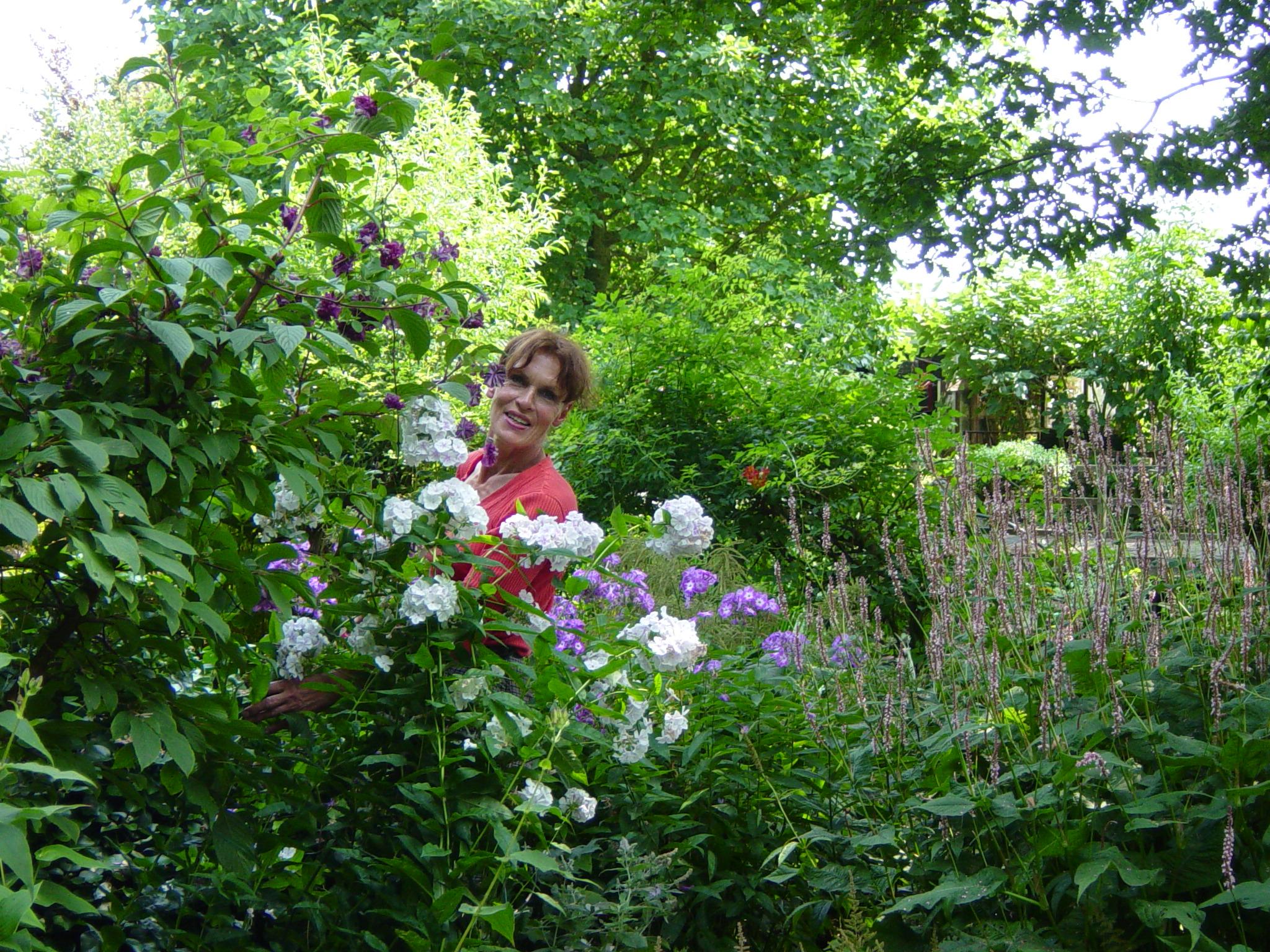 De tuin van de familie Meeuwis is dit weekend te bezoeken. (Foto: aangeleverd)