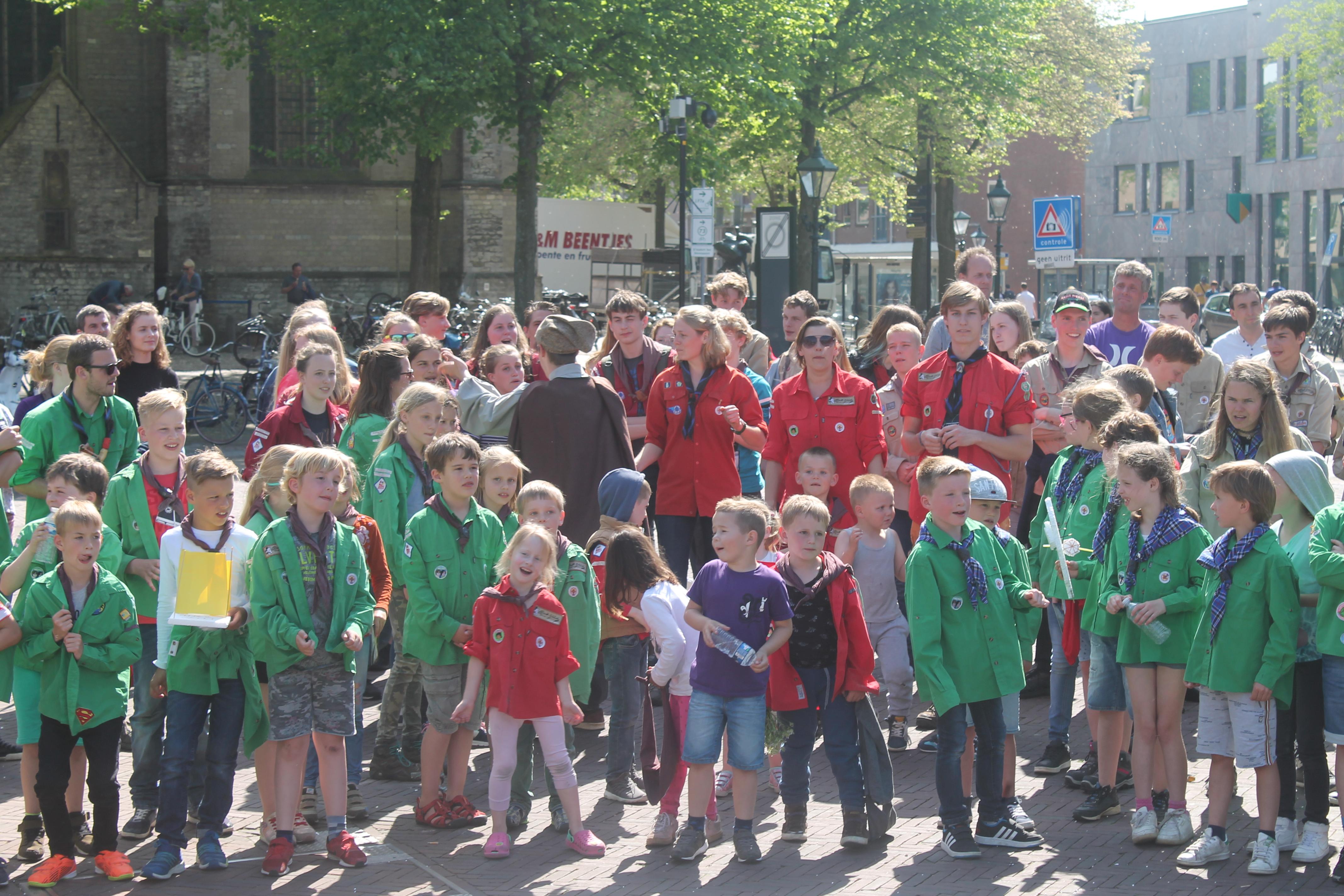 Scouting Alkmaar viert honderdjarig bestaan. (Foto's: aangeleverd) rodi.nl © rodi