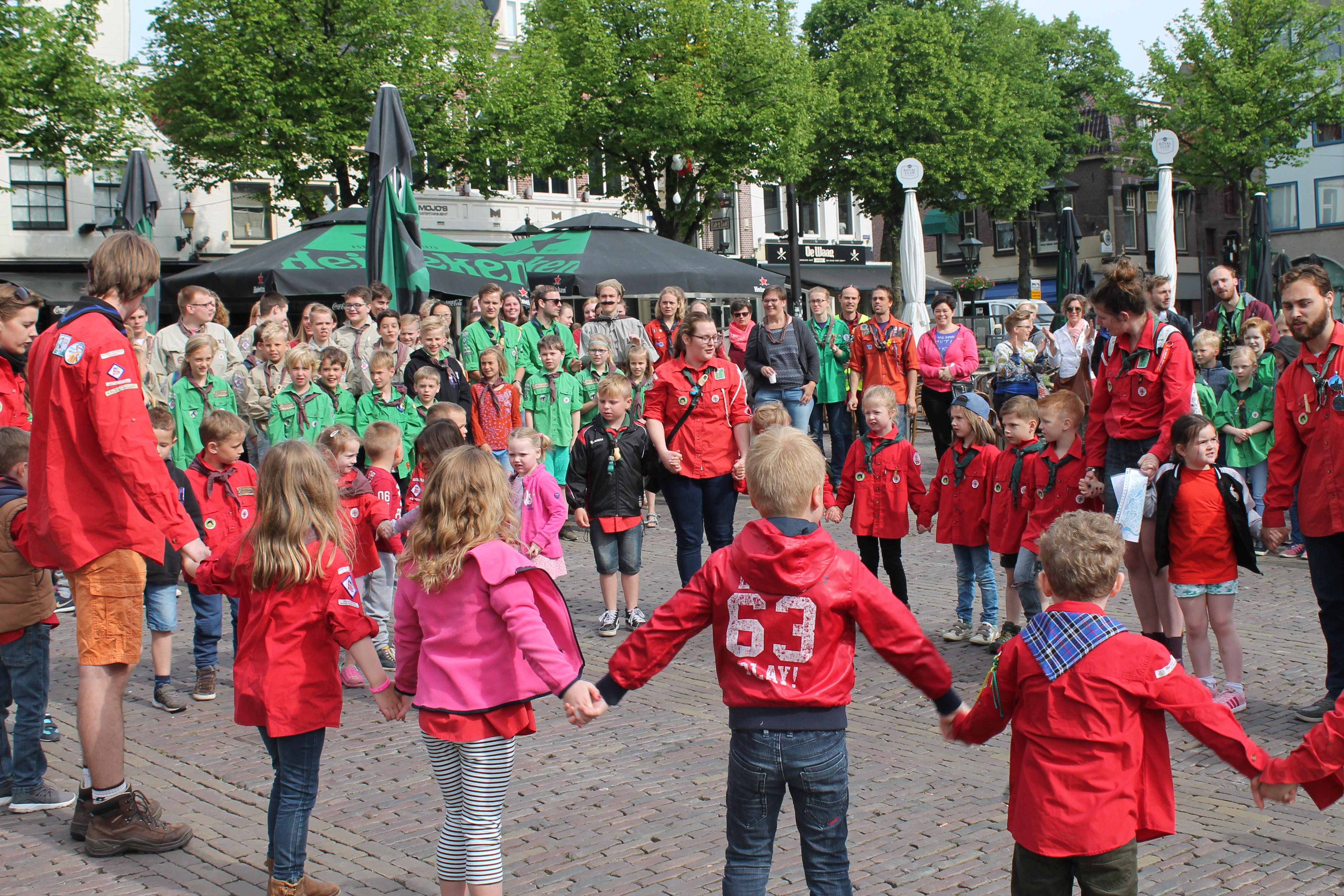 Scouting Alkmaar viert honderdjarig bestaan. (Foto's: aangeleverd)