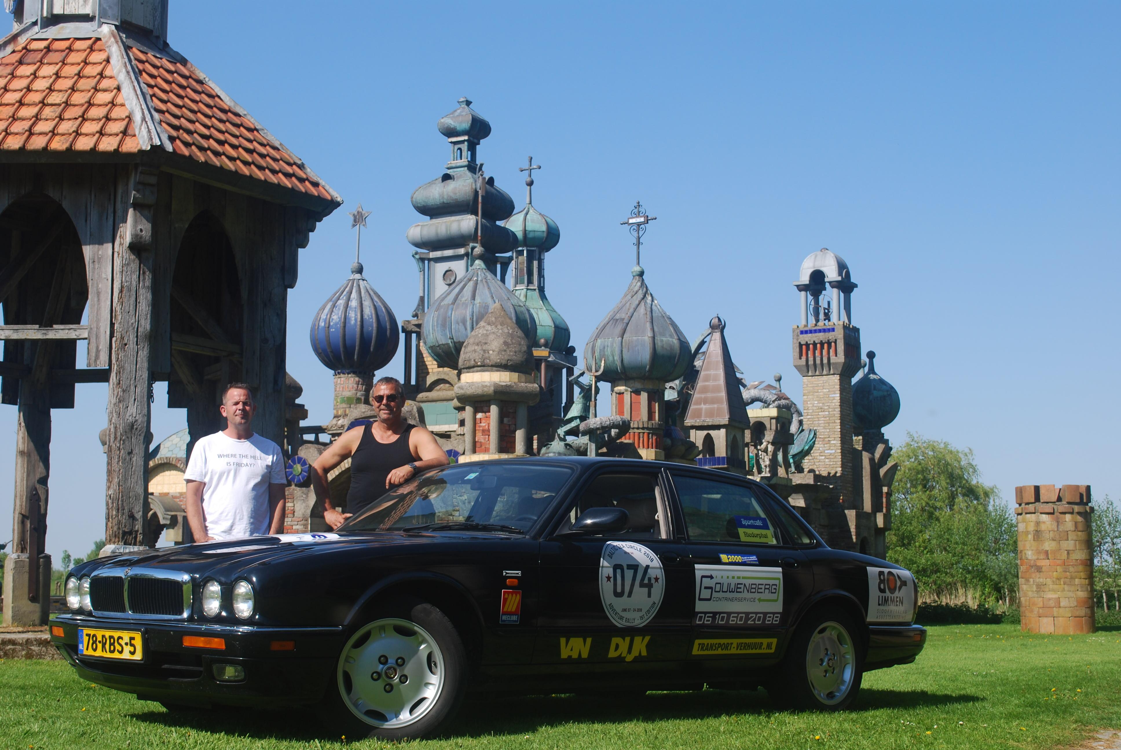 Team Gouwenberg doet mee aan de Baltic Sea Rally ten behoeve van Dierenopvang Schagen-Hollands Kroon. (Foto: aangeleverd)