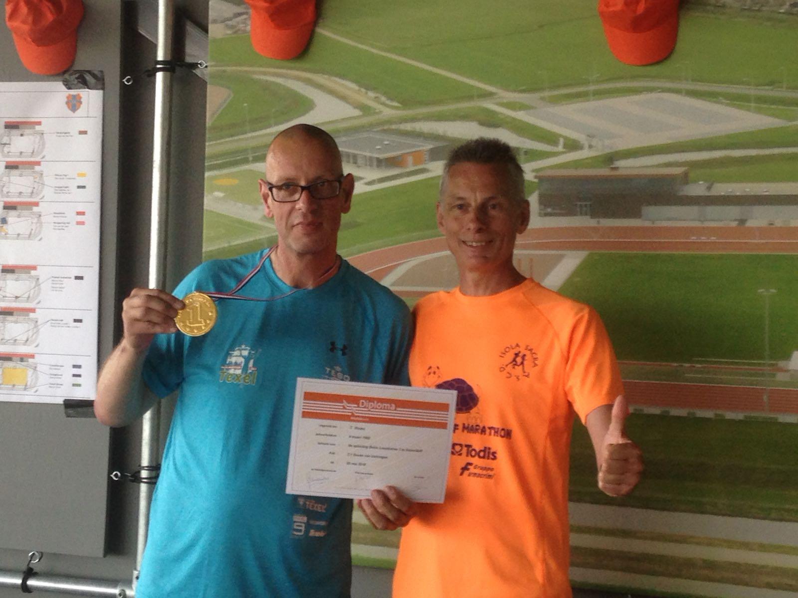 Teun Rooks en Ruud van Breukelen. (Foto: aangeleverd)